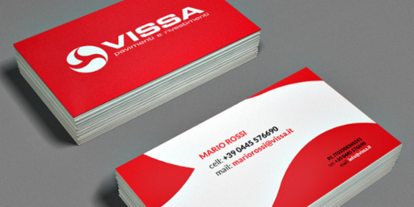 Vissa corporate identity and website
