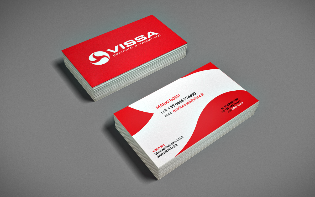 Business cards, catalogs and folders
