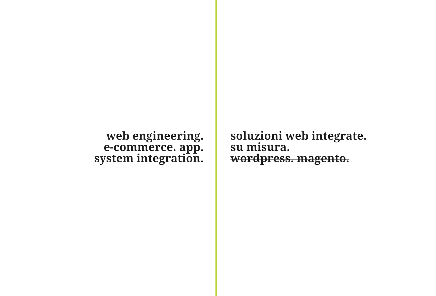 web engineering. 