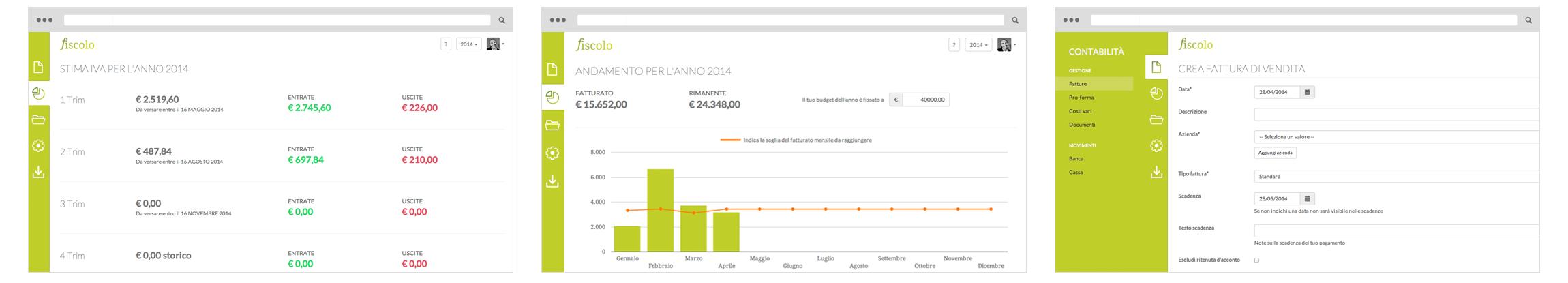 Gestione online di fatture contabilit e progetti le for Disegna i progetti online gratuitamente